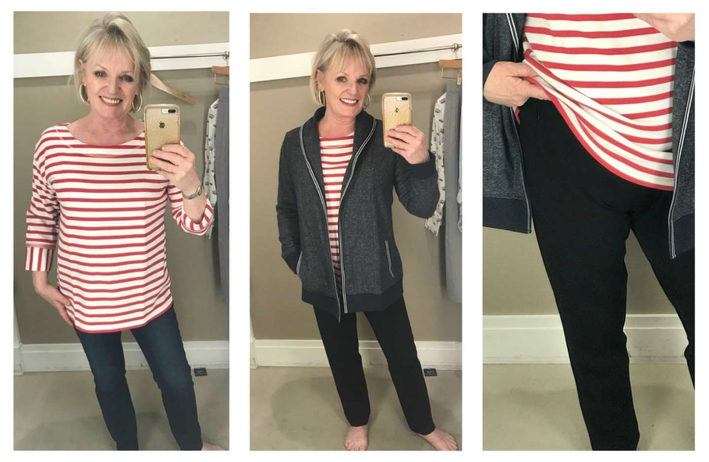 Jennifer Connolly of A Well Styled Life modeling T by Talbots newest collection