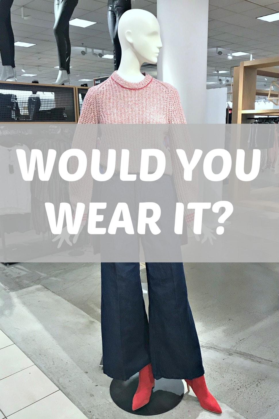Would You Wear It: Full Jeans