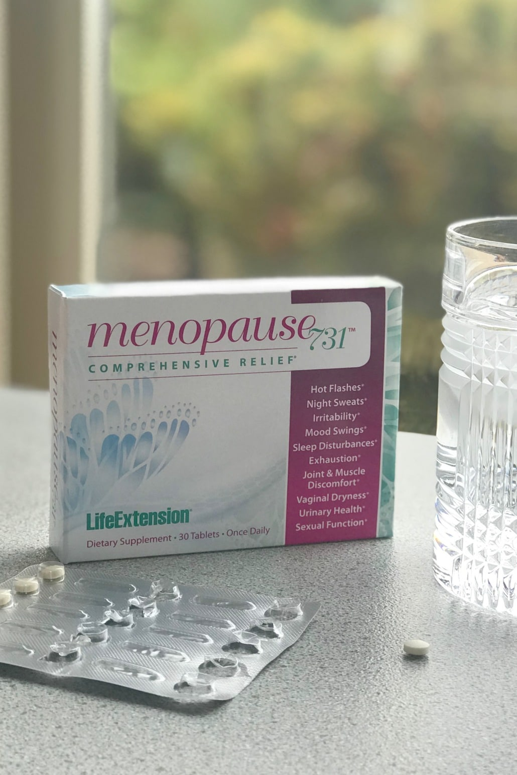 Menopause 731 supplement on A Well Styled Life