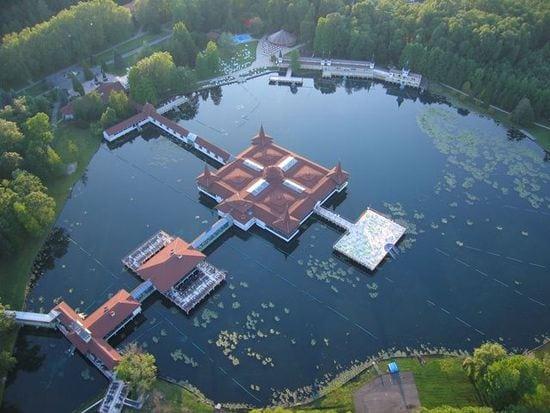 The incredible healing waters of Lake Heviz www.awelltravelledbeauty.com