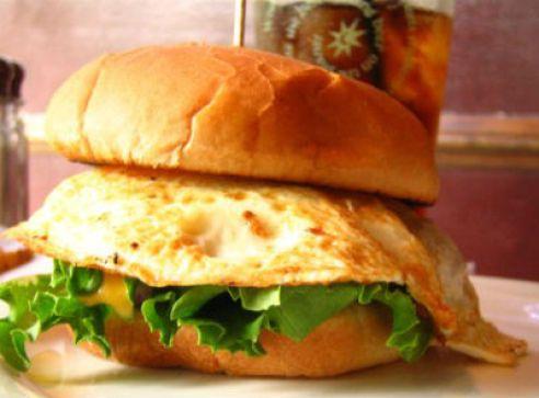 Egg Burger Recipe | How to make Egg Burger