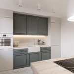 One Wall Kitchen With Island Awesome Decors