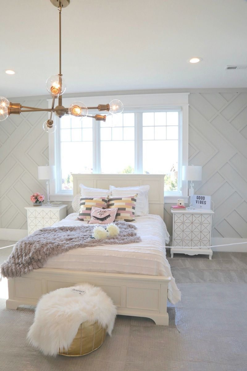 Luxury Bedroom Decorating Ideas For Teenage Girl - Awesome ... on Room Decor For Girl  id=49744