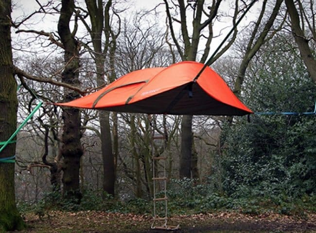 Camping On A Whole New Level