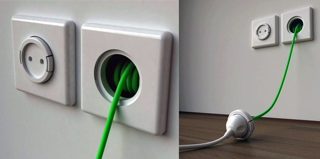 extension lead wall socket
