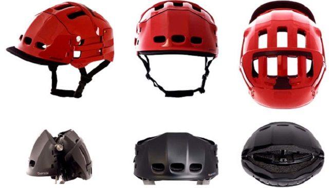 folding helmet