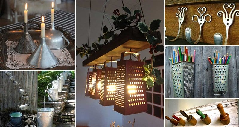 15 Awesome Ways To Repurpose Old Kitchen Items Part 1