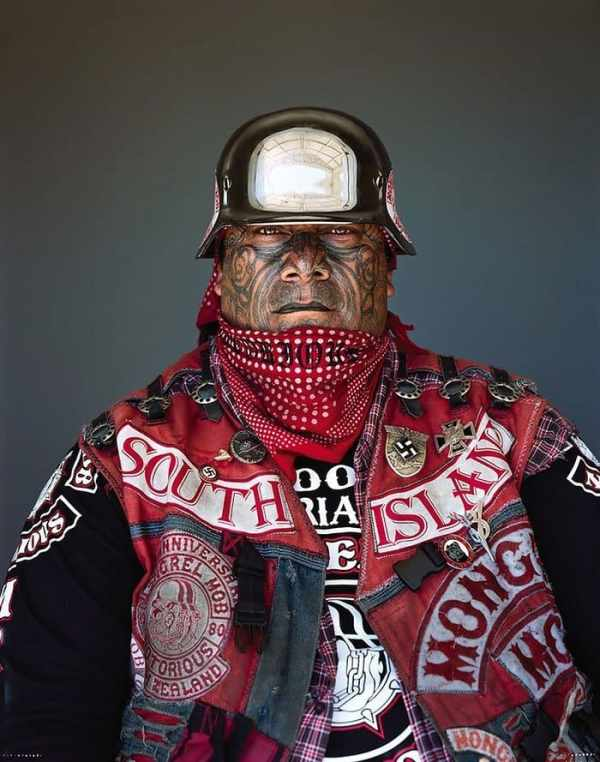 Portraits Of Some Of New Zealand's Toughest Gang Members ...