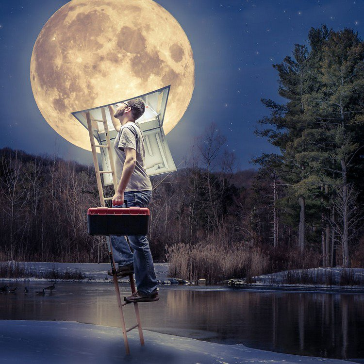 Photographer Dan King Creates Awesomely Surreal Composite