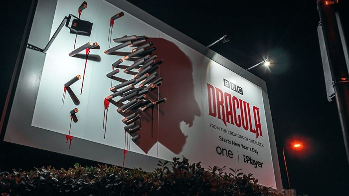 Bbc S Dracula Billboard Confuses People In The Day But