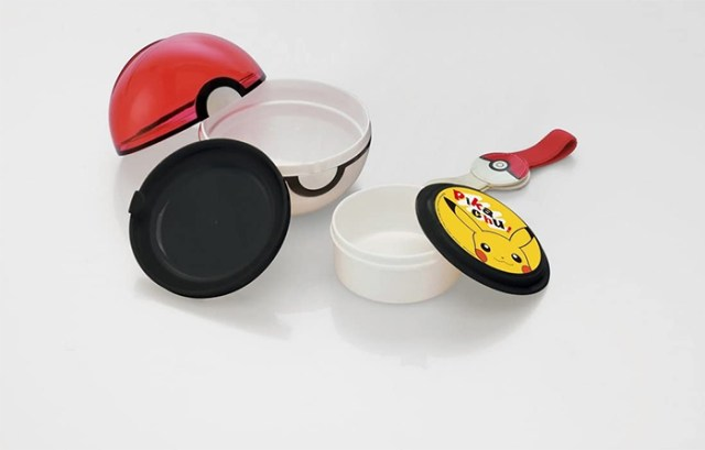pokemon food container with partition