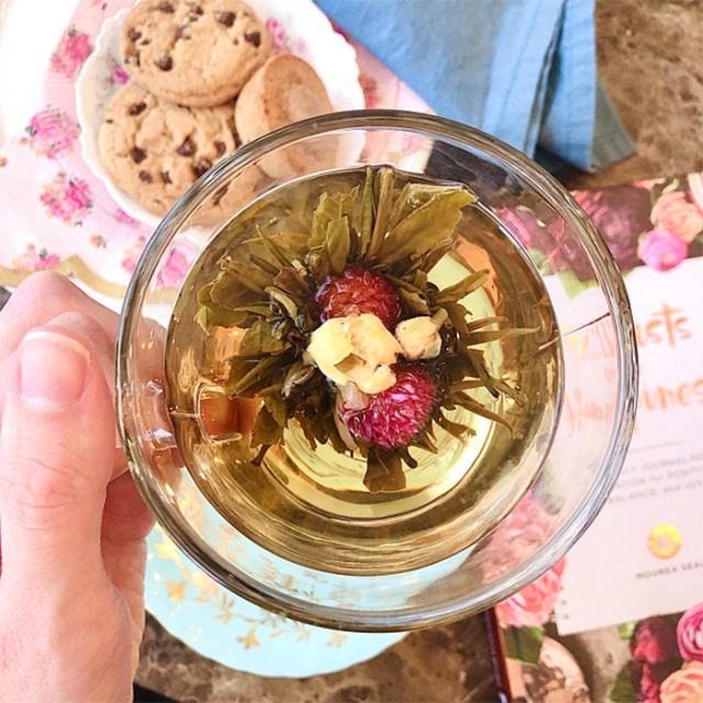 blooming tea balls blossom