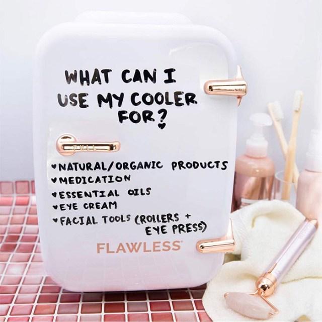 cosmetics skincare cooler