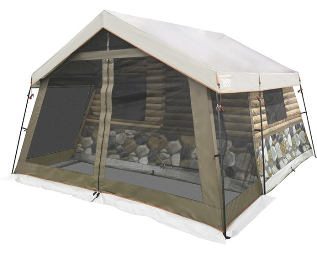 8-person base camp