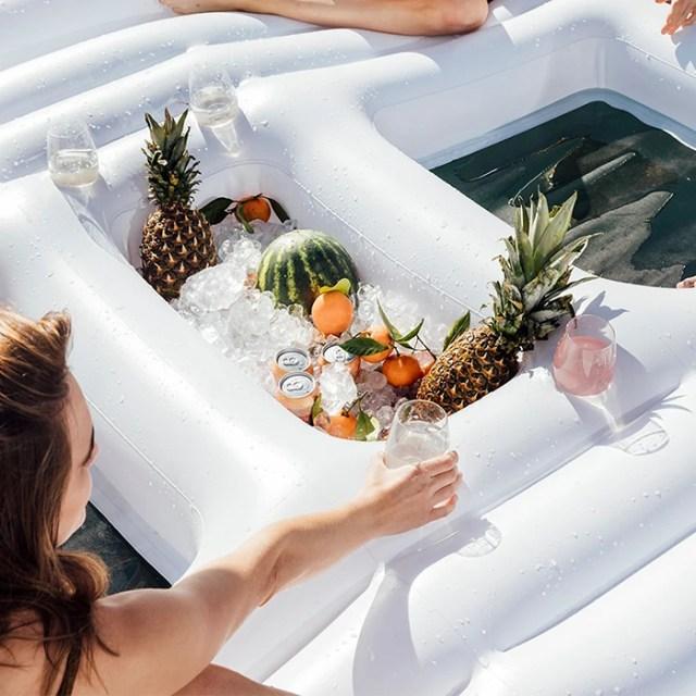 funboy giant cabana float built in cooler