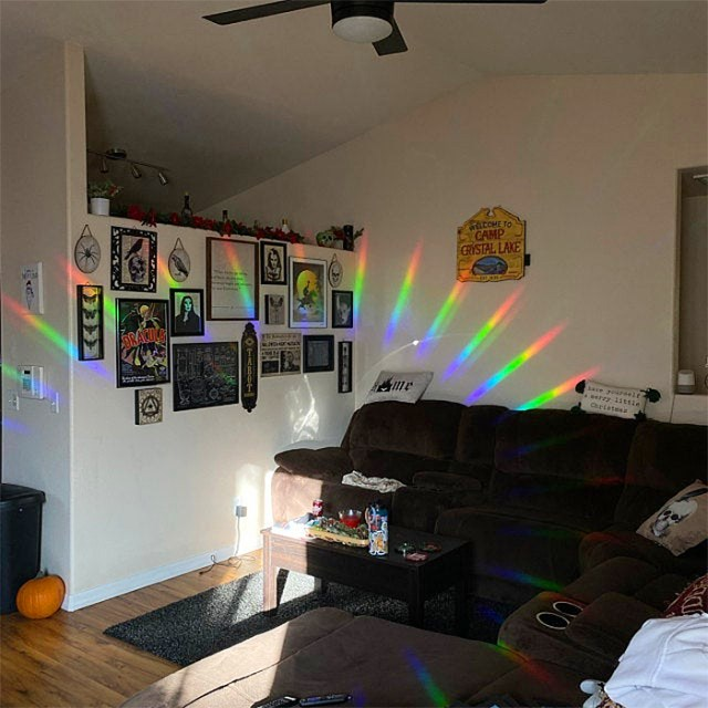 rainbow maker window decal