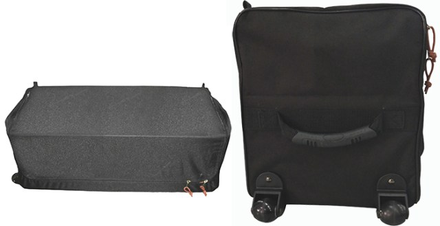 wheeled carrying bag