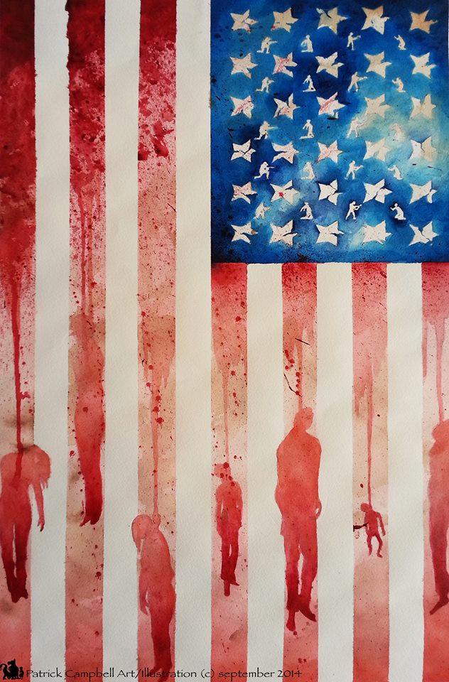 America Blood Patrick Campbell Artist