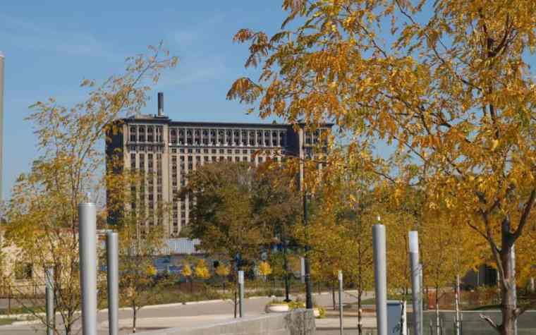 The Awesome Mitten - Michigan Central Station