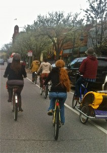 The Awesome Mitten - Traverse City Bike Party