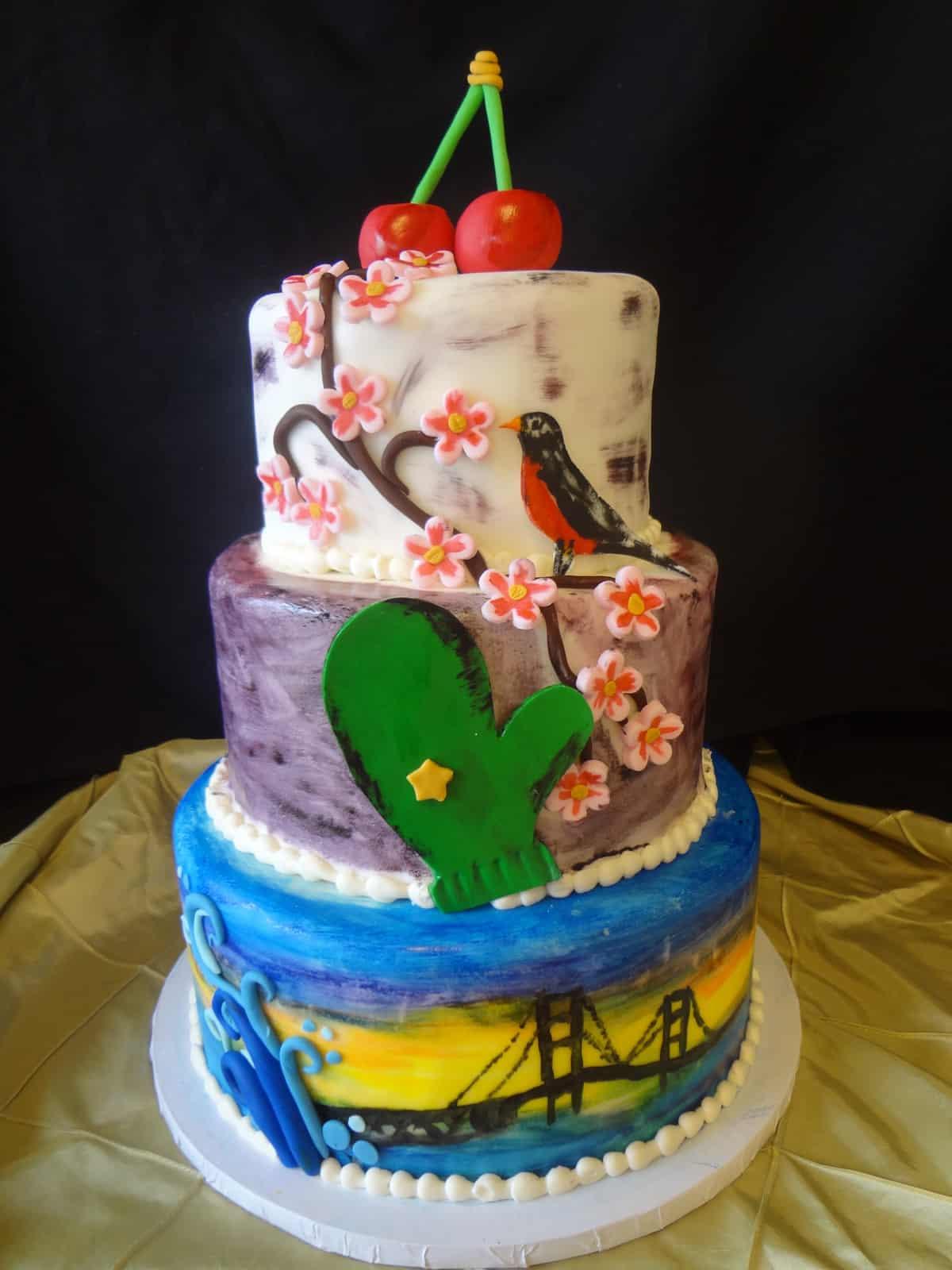Second Floor Bakery   Michigan Birthday Bake Off
