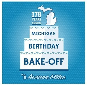 Michigan's Birthday Bake Off Professional Entries 2015