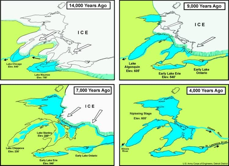ancestral great lakes