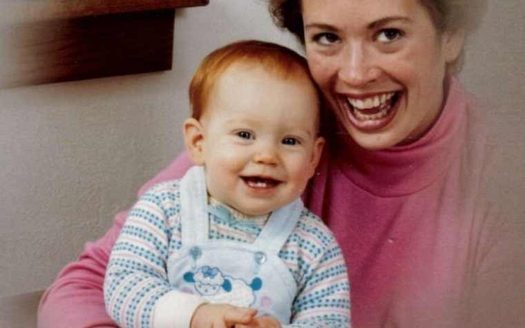 Managing Editor Erin Bernard and her mom Becky Cain