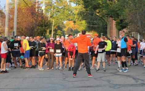 Race Across the Mitten: It's Fall-tastic!