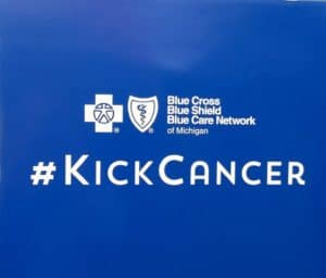 #KickCancer with Blue Cross Blue Shield of Michigan