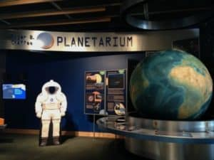 The Awesome Mitten- The Newly Renovated Roger B. Chaffee Planetarium