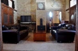 union station depot living room