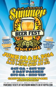 Awesome Mitten- 3 Reasons to Attend Detroit Summer Beer Fest