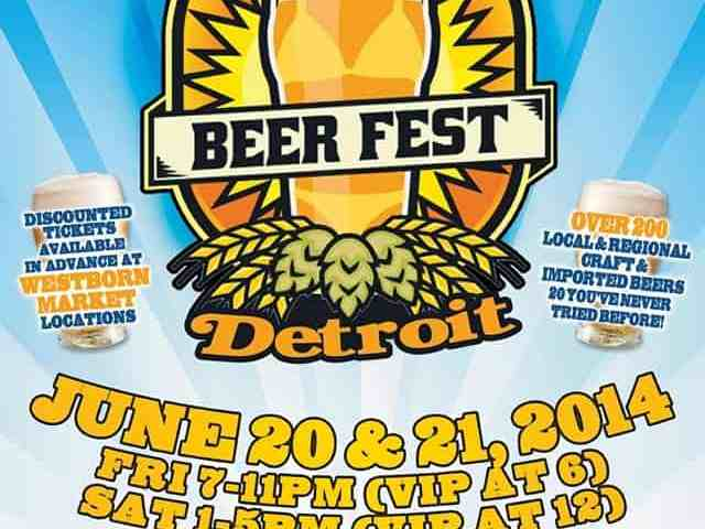 3 Reasons Not to Miss the Detroit Summer Beer Festival