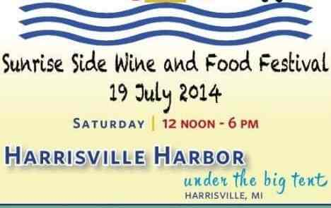 Celebrating 20 Years:  Michigan Sunrise Side Wine & Food Festival Coming July 19, 2014