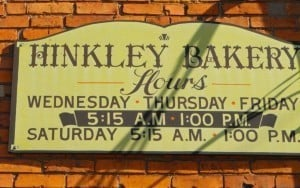 Hinkley's Bakery - Get in line early! The secret is out!