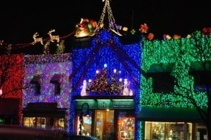 Holiday Lights - Awesome Mitten