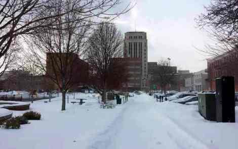 A Wintry Stroll Around Downtown Kalamazoo