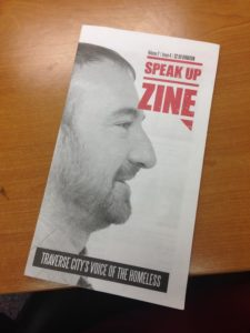 An issue of Speak Up Zine, Photo Courtesy of Jennifer Hamilton | Awesome Mitten