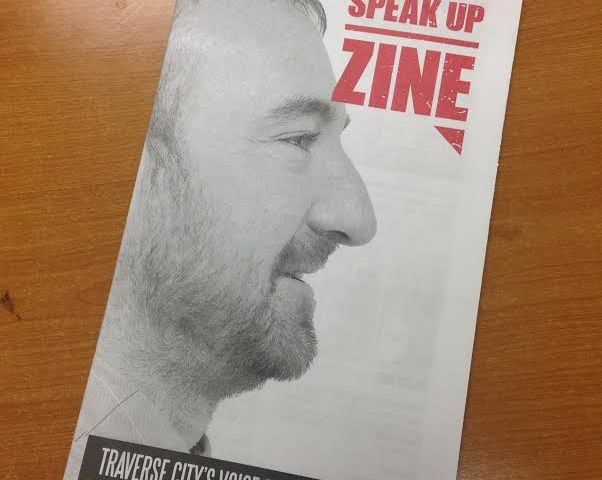 Speak Up Zine Gets Traverse City Talking
