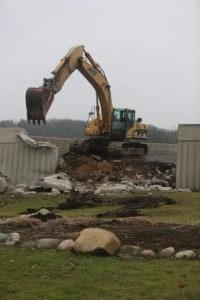 The Cascades Wall Demolition
