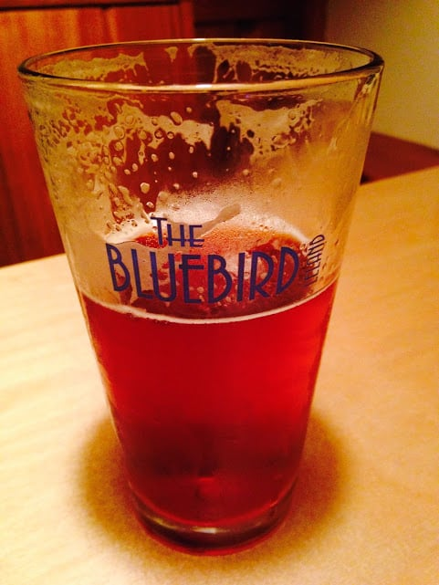 On Friday night we stopped in for a Michigan brew at The BlueBird. #MittenTrip Leland - The Awesome Mitten