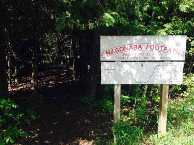 Nagonaba Footpath - #MittenTrip - Leland -The Awesome Mitten