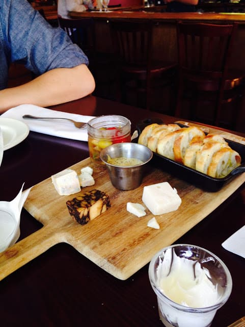 Appetizers at The Riverside Inn - #MittenTrip - Leland -The Awesome Mitten