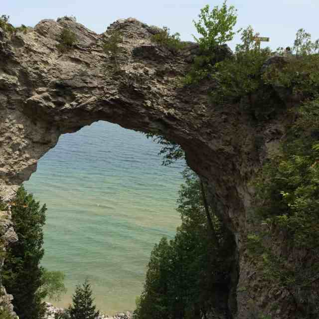 Arch Rock - Mackinac Island - #MittenTrip - The Awesome Mitten