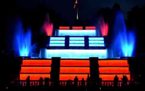 The Cascade Falls: Jackson's Musical Fountain