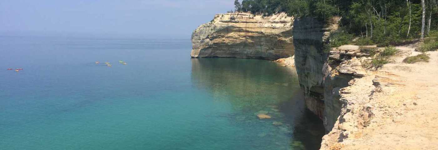 Hiking Pictured Rocks National Lakeshore is Worth the Effort