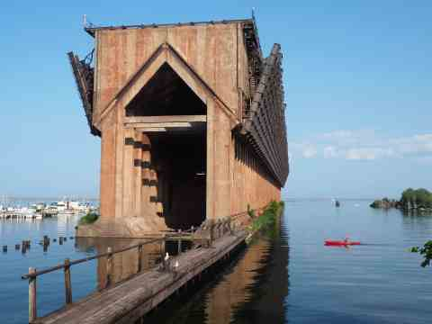 Ore Dock - #MittenTrip - Marquette - The Awesome Mitten
