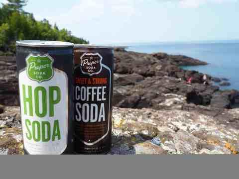 Proper Soda at Black Rocks at Presque Isle Park - #MittenTrip Marquette - The Awesome Mitten
