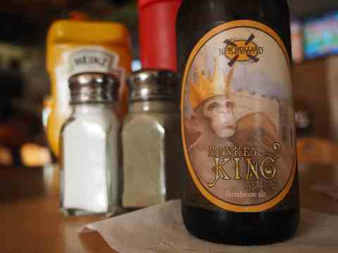 New Holland Brewing Company's Monkey King from Stucko's Bar & Grill - #MittenTrip Marquette - The Awesome Mitten